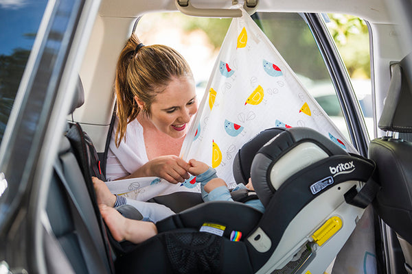 Why is your baby more exposed in the car to winter UV than you are?