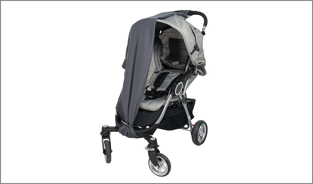 Stroller with Grey Cover