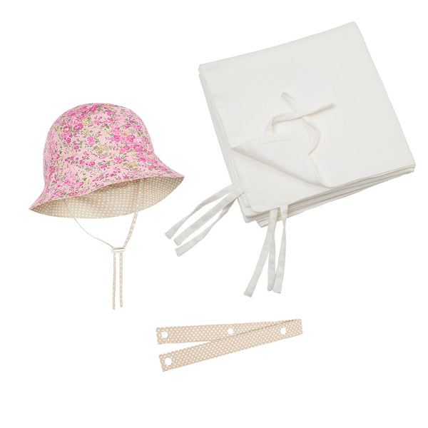 Out+About Baby Gift Pack - Pink Floral print