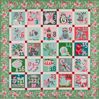 25 Days Till Christmas - Pattern