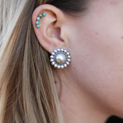 Studded Concho Stud SMALL