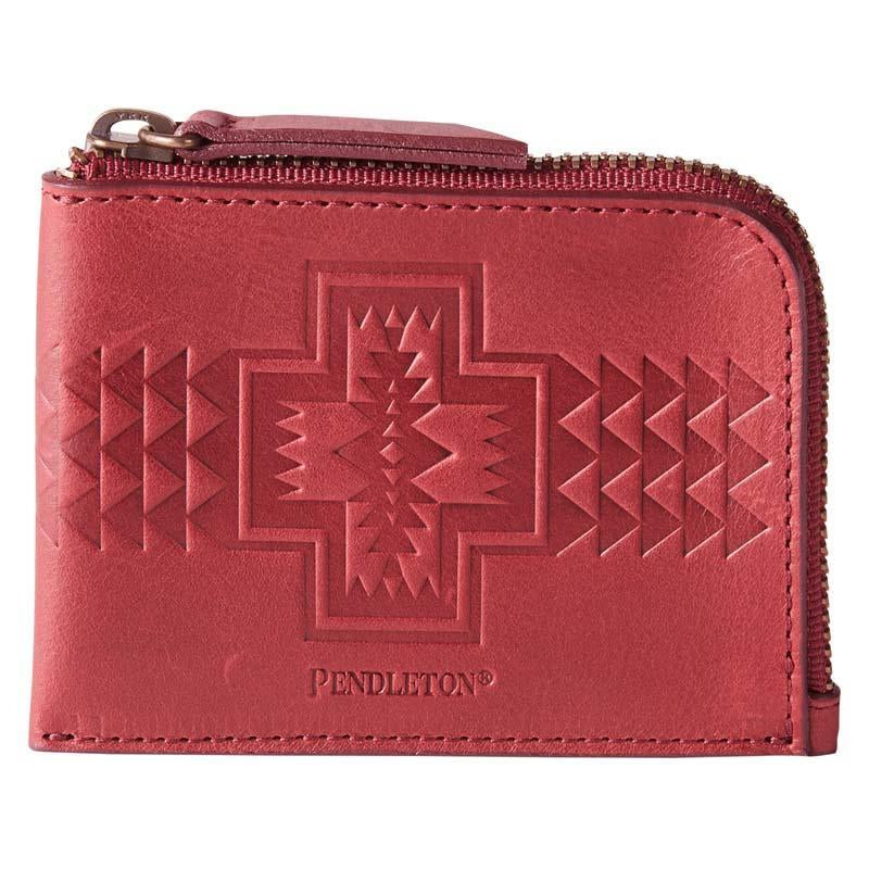 Red Zip Wallet