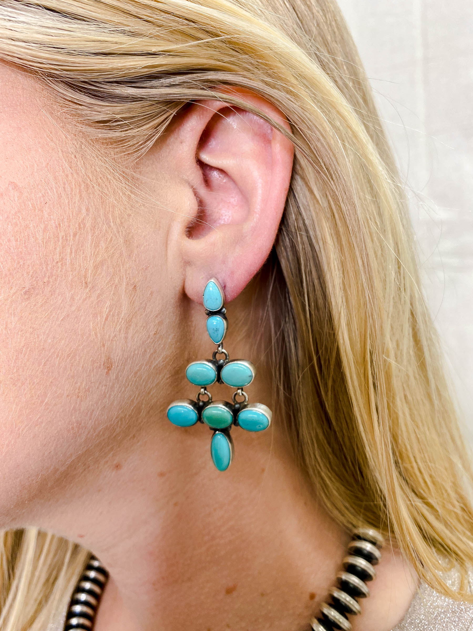 Turquoise Wild Dream Earrings