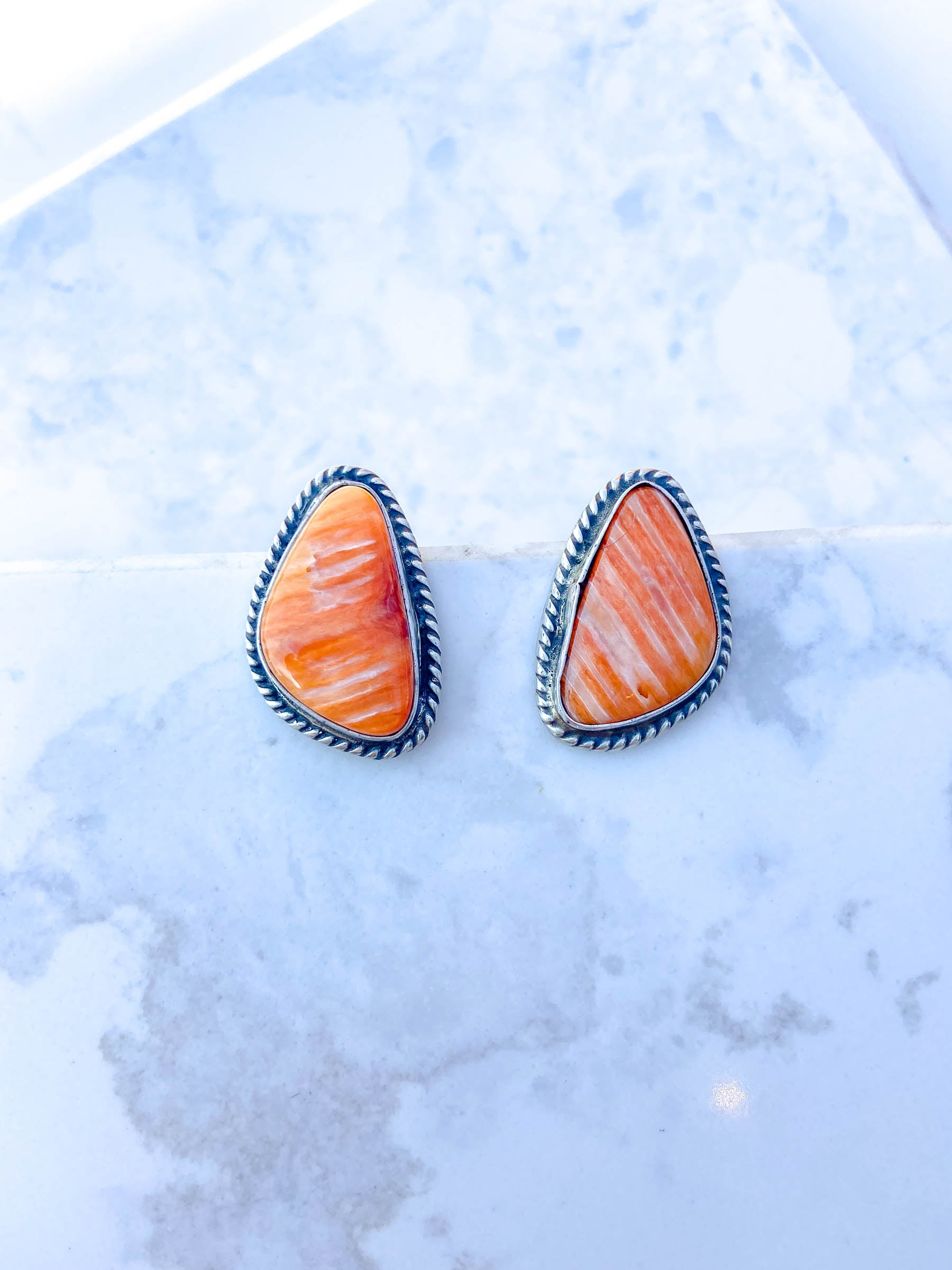 Spiny Oyster Post Earring