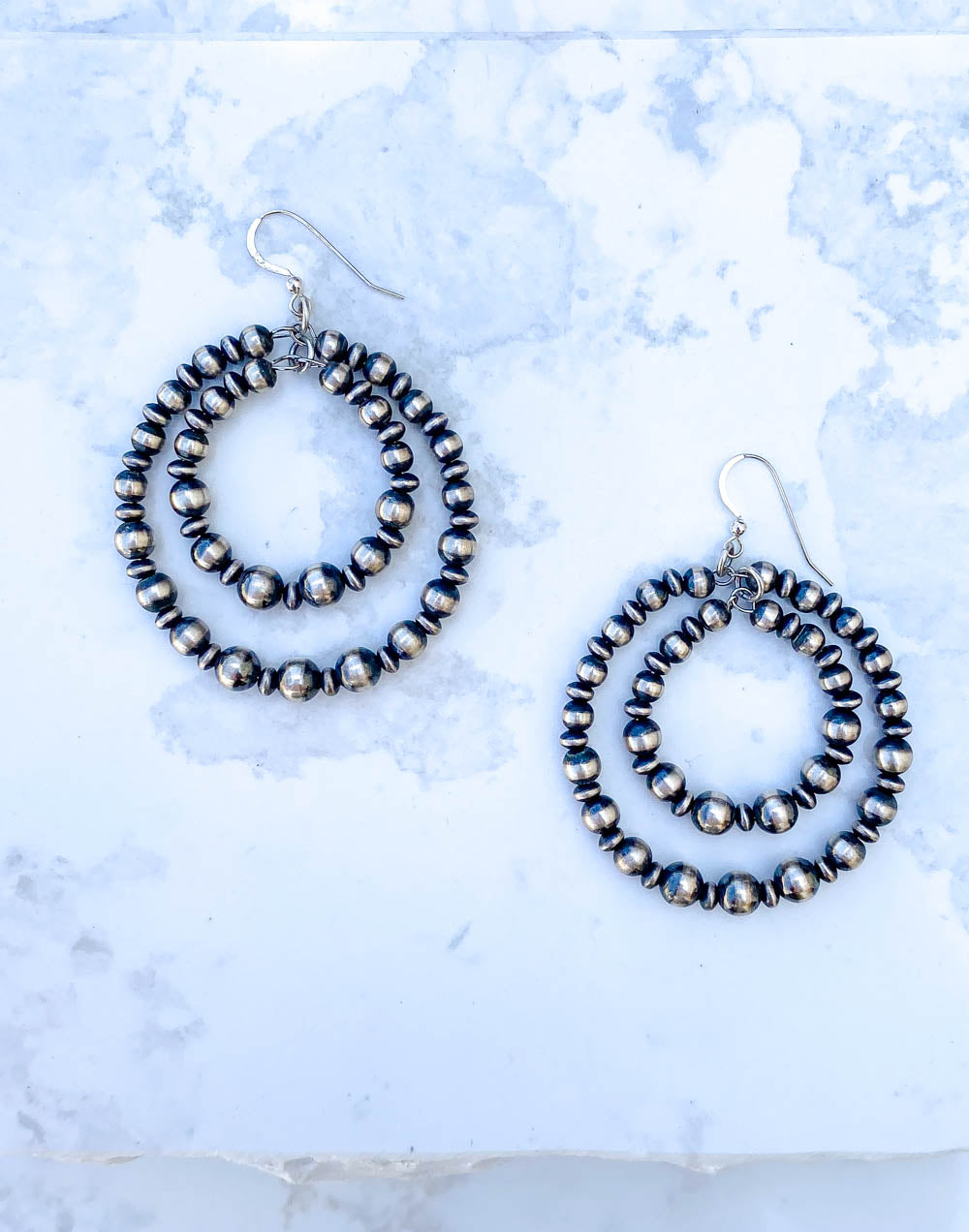 Layered Circle Navajo Hoops