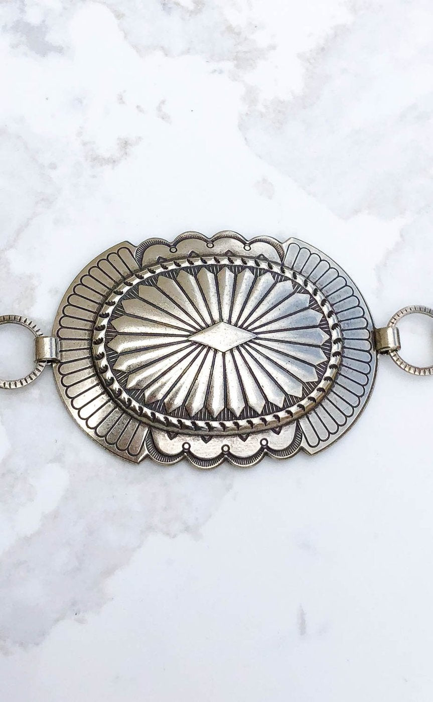 The Lucia Concho Belt