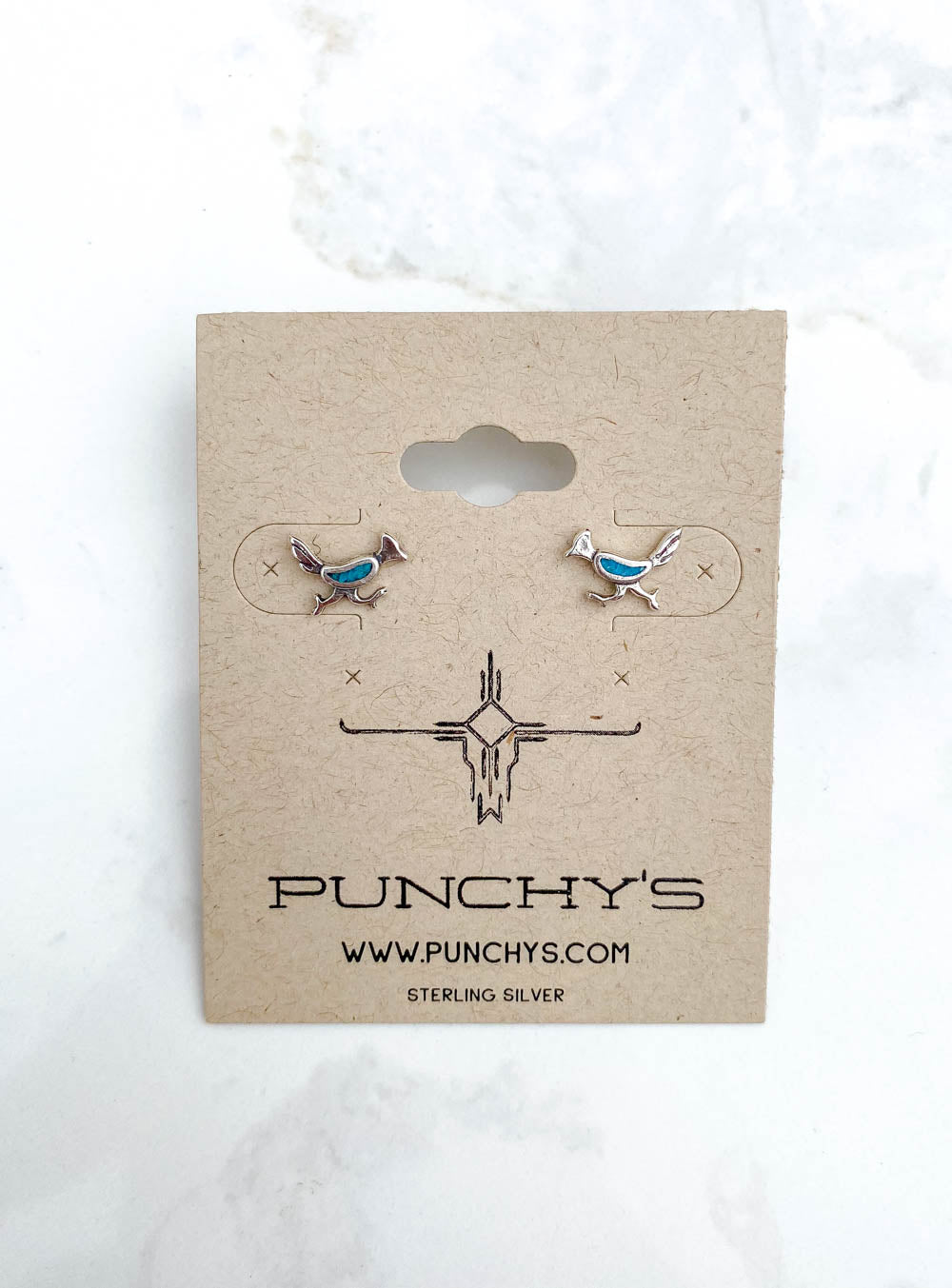 Roadrunner Stud with Turquoise