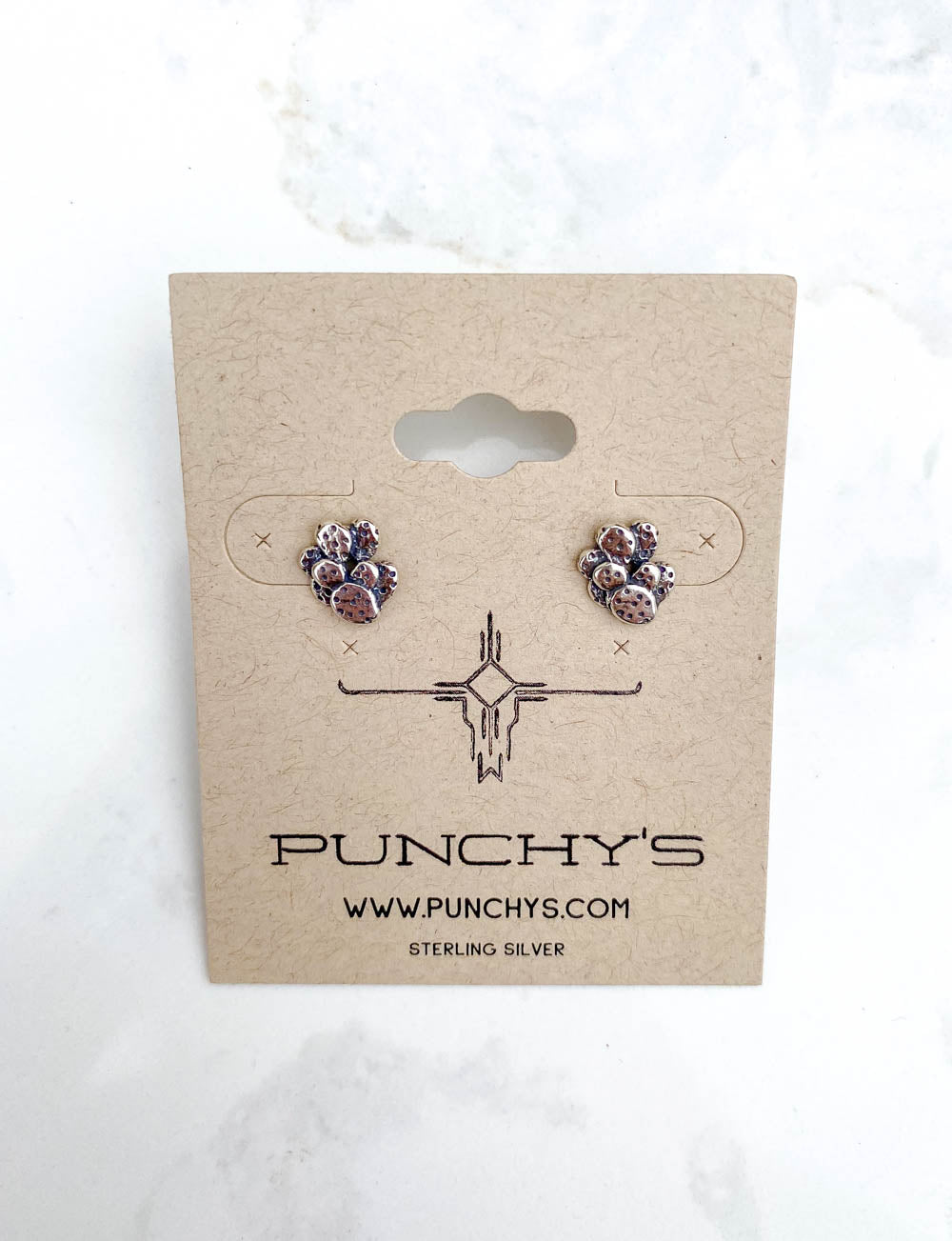 Small Prickly Pear Cactus Studs