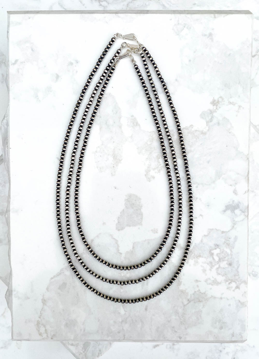 3mm Navajo Pearl Necklace