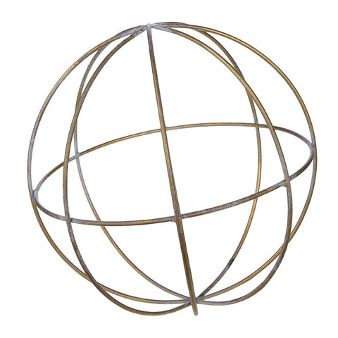 "10"" GOLD ORB"