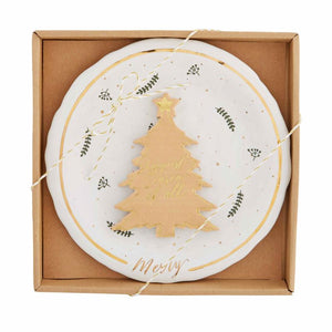GOLD SPLATTER CHEESE SET