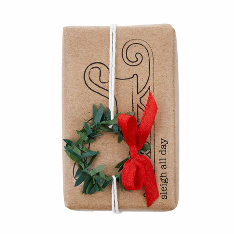 FUNNY SOAP WITH TRIMS-SLEIGH