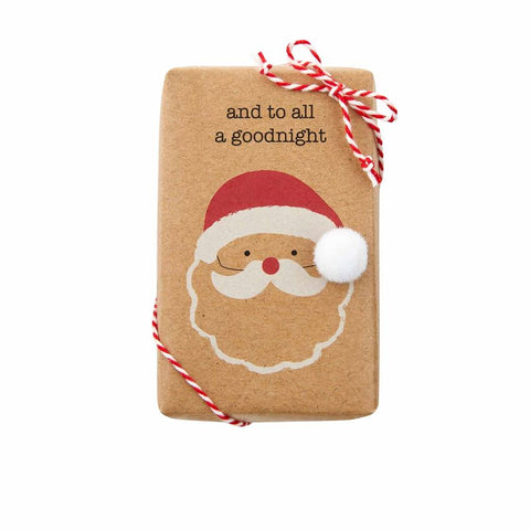 FUNNY SOAP WITH TRIMS-SANTA