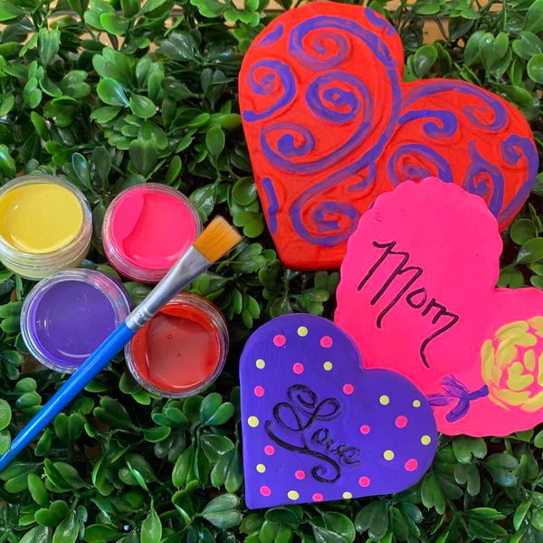 Art from the Heart Kids Craft box (Lots of Hearts)