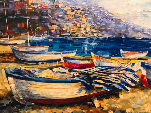 Boats at Amalfi