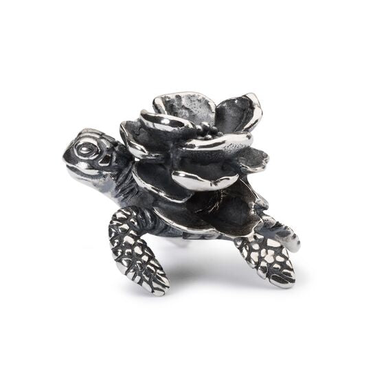 Turtle Flower Bead