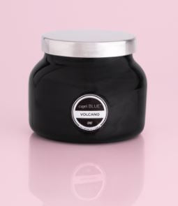 8 oz Volcano Black Petite Signature Jar Candle