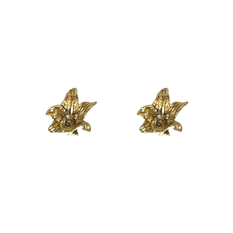 GOLD LILY STUDS