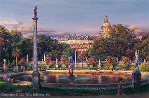 The Luxembourg Garden II: La Fountaine