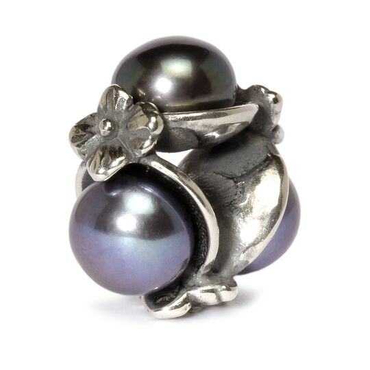 Triple Pearl Bead, Black
