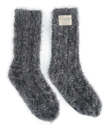 Charcoal Giving Socks