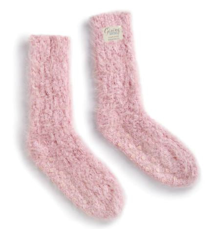 Pink Taupe Giving Socks