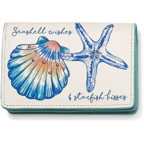 Sea Shore Card Case