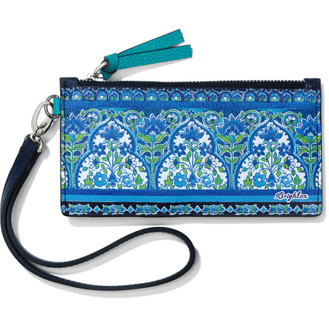 Journey To India Peacock Card Pouch