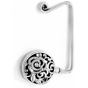 Deco Rose Handbag Hook