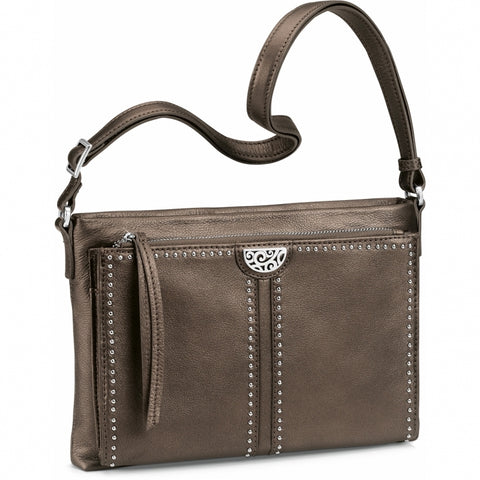 Pewter Jagger Cross Body Organizer