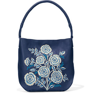 Kellen Embroidered Hobo