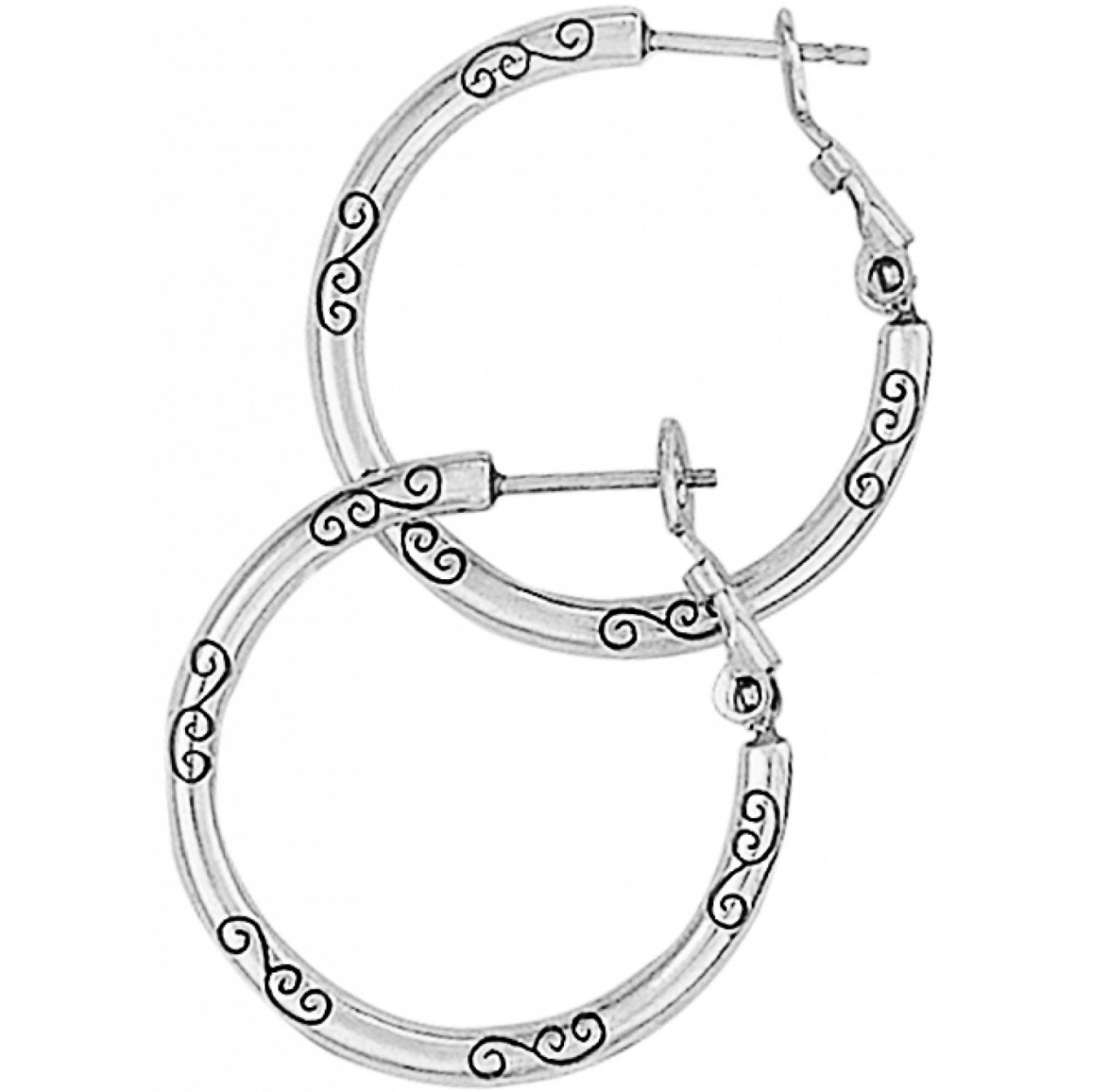 Small Earring Charm Hoops
