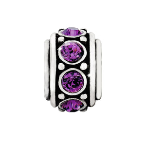 Glam Spacer-Amethyst