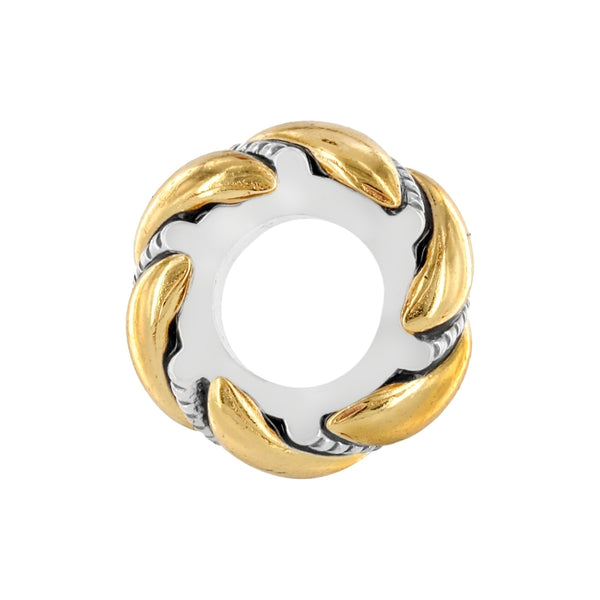 Twisted Bliss Spacer-Gold