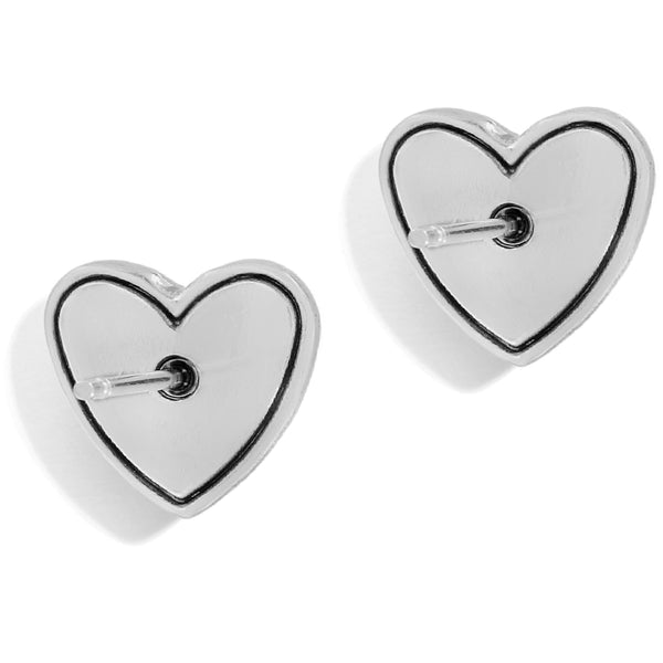 Stellar Heart Post Earrings
