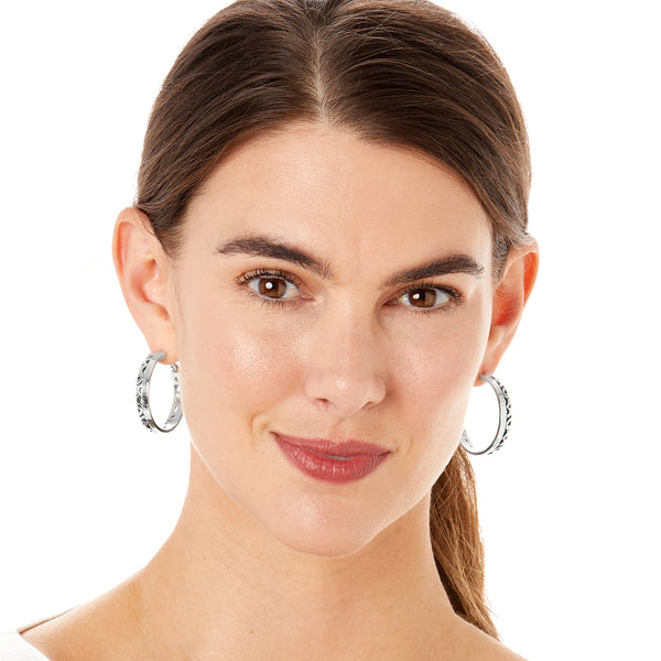 Barbados Park Hoop Earrings
