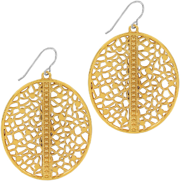 Fiji Sparkle French Wire Earrings-Gold