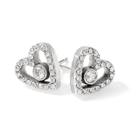 Illumina Love Post Earrings