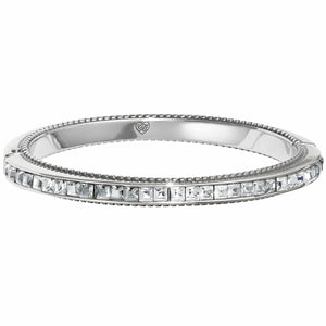 Spectrum Hinged Bangle - Ice