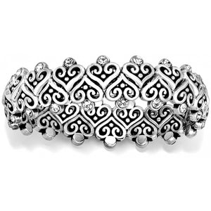 Alcazar Heart Stretch Bracelet
