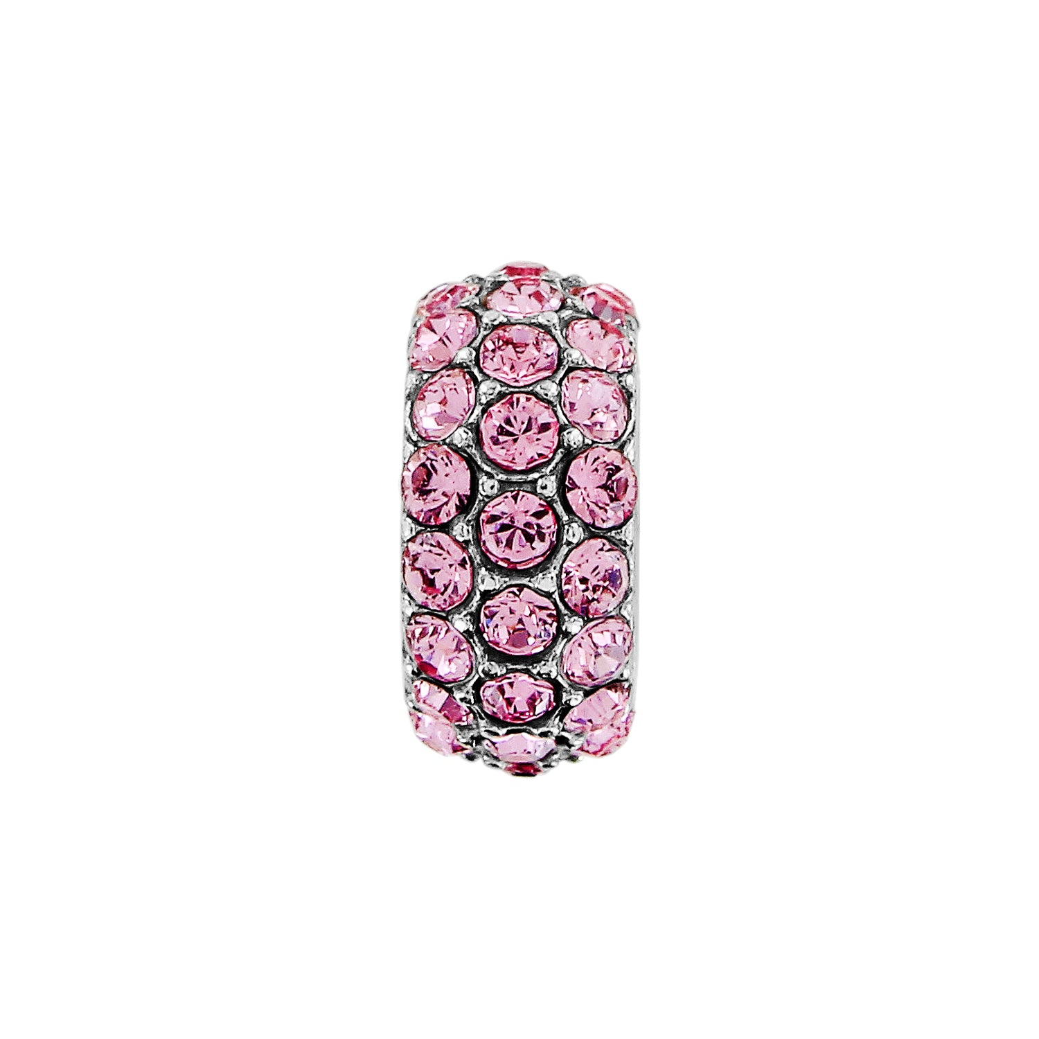 Glitter Spacer-Pink
