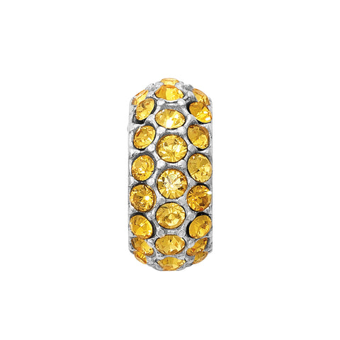 Glitter Spacer-Yellow