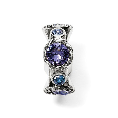 Halo Stargazer Spacer-Tanzanite
