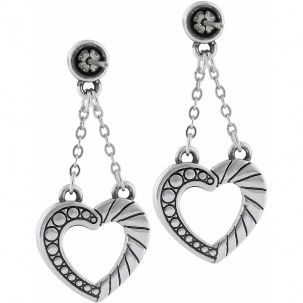 Connected by Love Post Drop Earrings