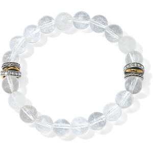 Neptune's Rings Crystal Stretch Bracelet