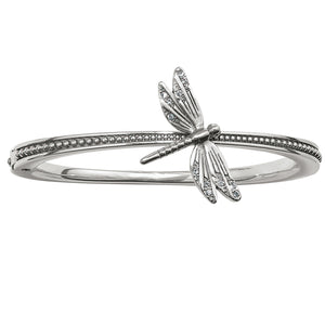 Solstice Dragonfly Hinged Bangle