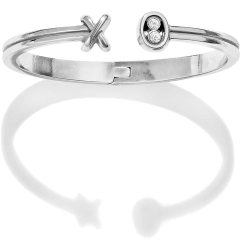 Hugs & Kisses Open Hinged Bangle