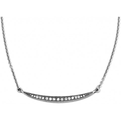 Contempo Ice Reversible Necklace - Silver