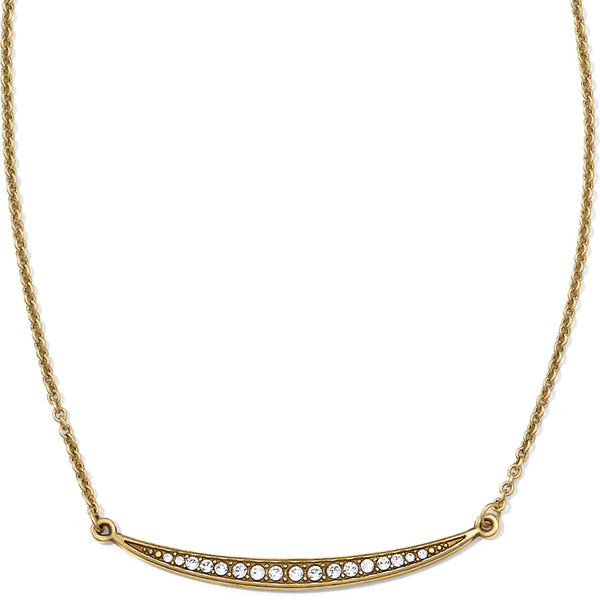Contempo Ice Reversible Necklace - Gold