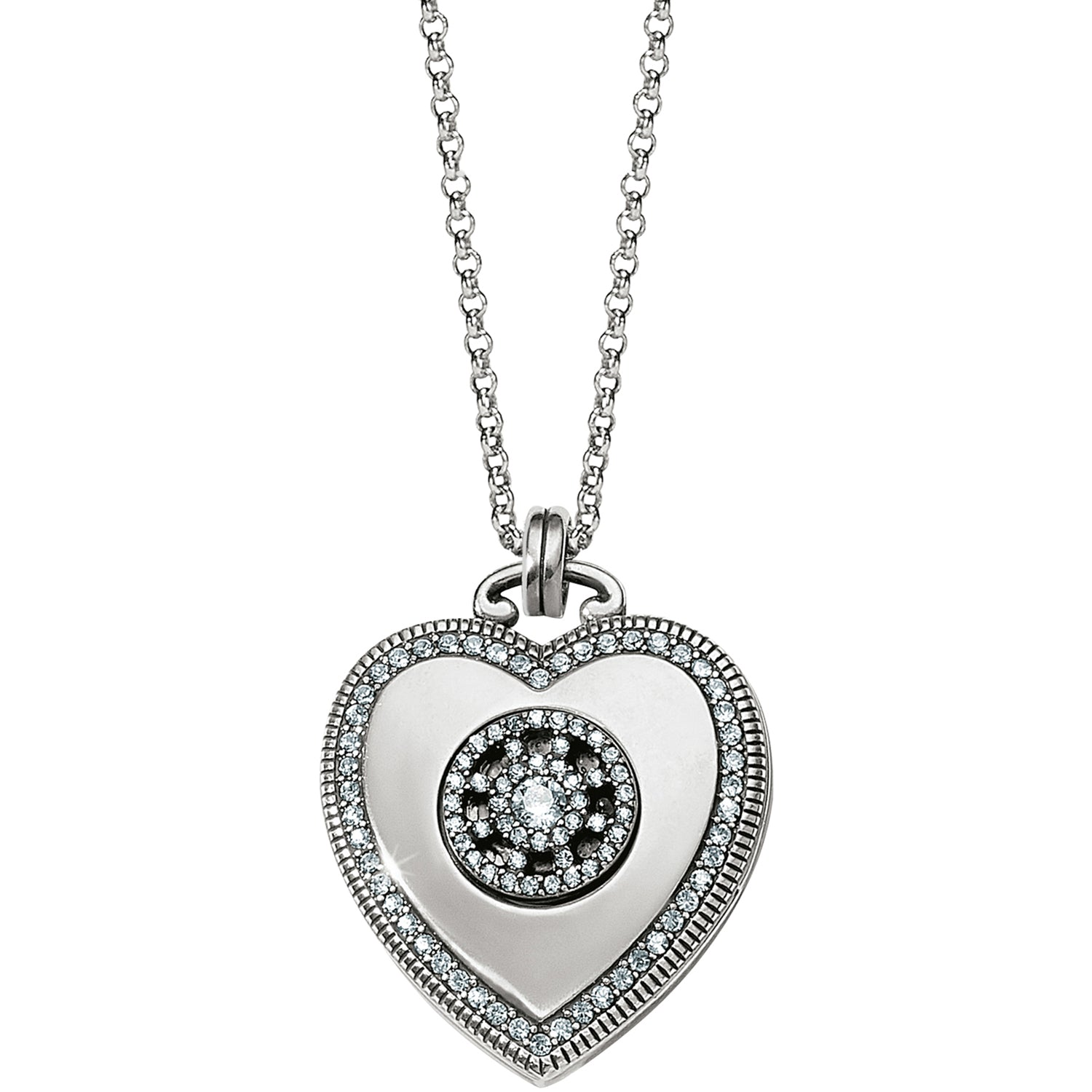 Illumina Small Heart Locket Necklace